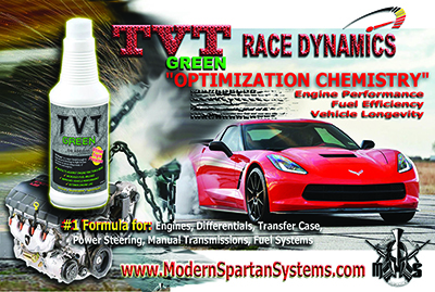 Modern Spartan Systems TVT Engine / Vehicle Oil Additive