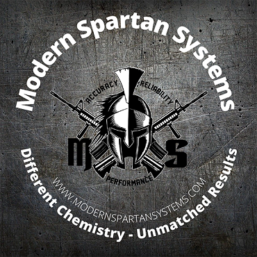 Modern Spartan Systems Sticker